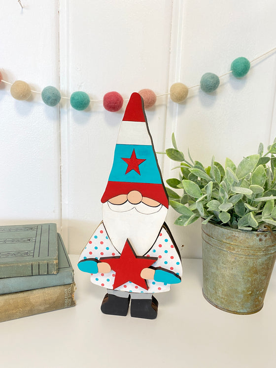 DIY Gnome Outfit | 4th of July