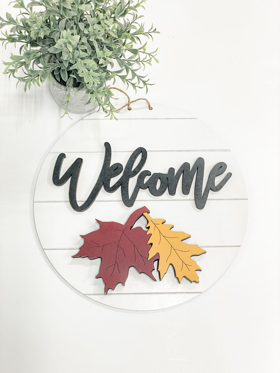 Fall leaves DIY Kit  | Interchangeable Pieces