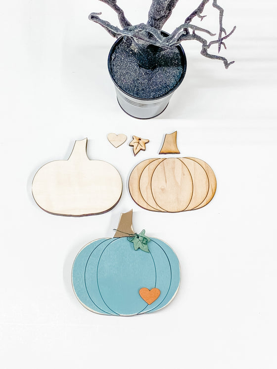 DIY Pumpkin Kit- Small | Round