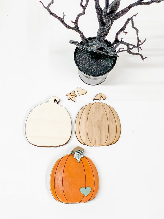 DIY Pumpkin Kit- Small | Wide