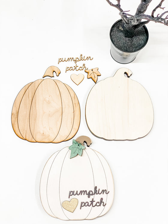 DIY Pumpkin Kit- Med | Wide
