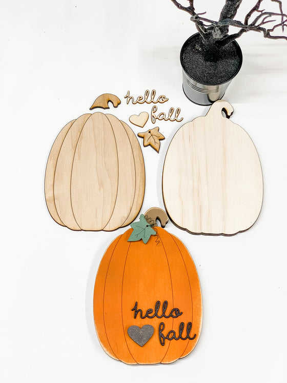 DIY Pumpkin Kit- Med |  Tall