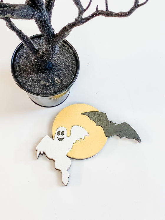 Ghost & Bat DIY Kit  | Interchangeable Pieces