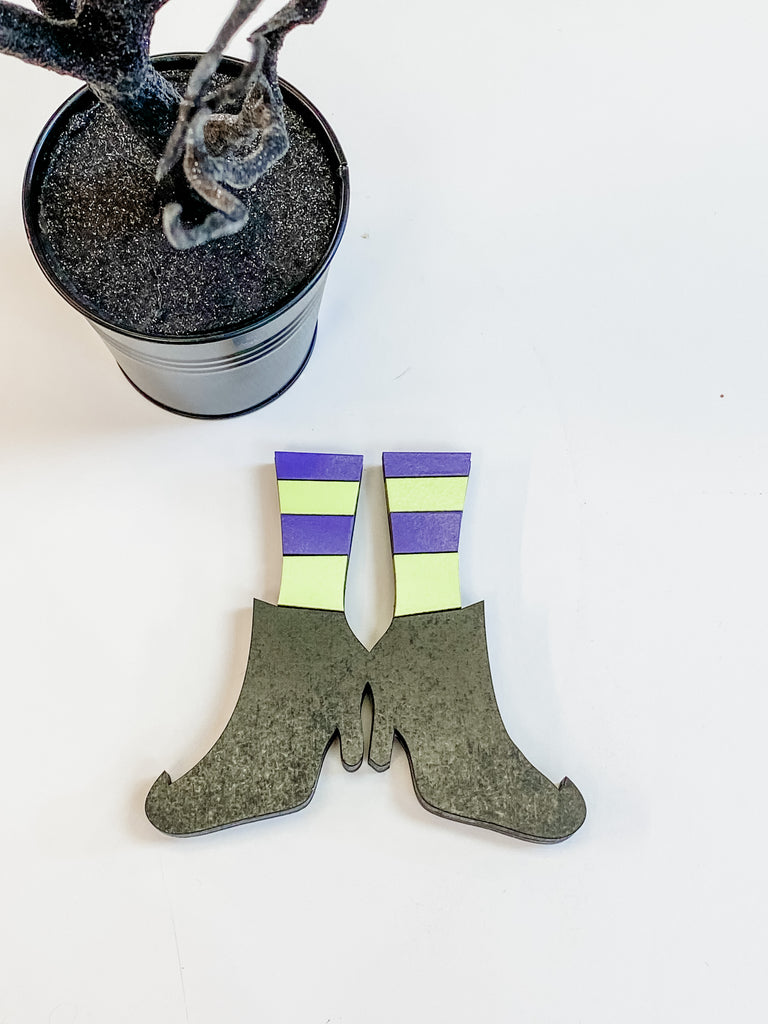 Witch Legs DIY Kit  | Interchangeable Pieces