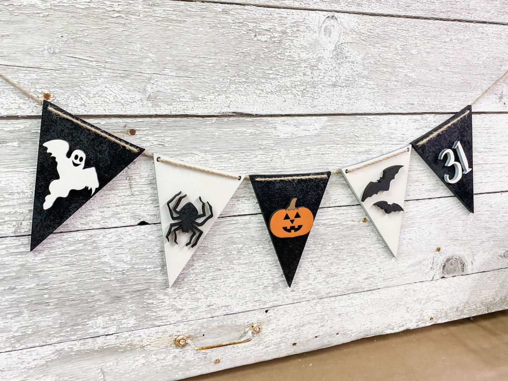 Halloween DIY Kits | Sign & Banner-Unfinished
