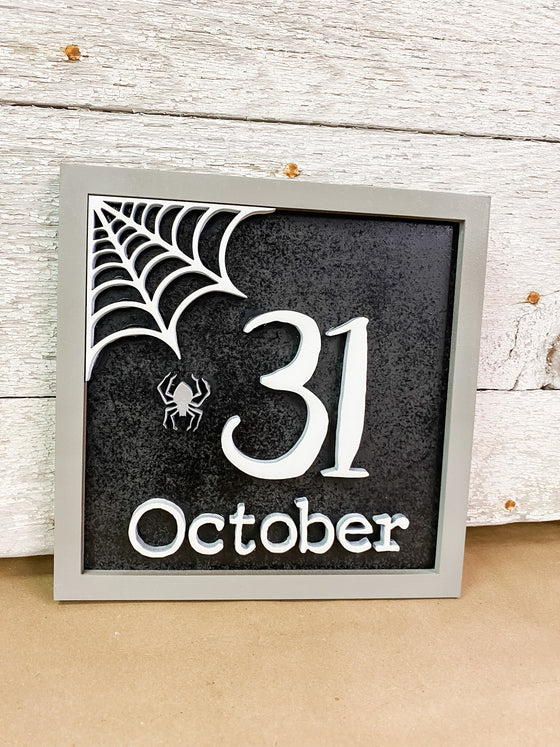 Halloween DIY Kits | Square 31 Sign-Unfinished