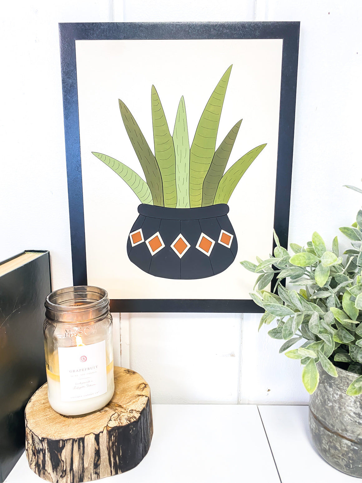 DIY Wall Art Kit | Plant 3