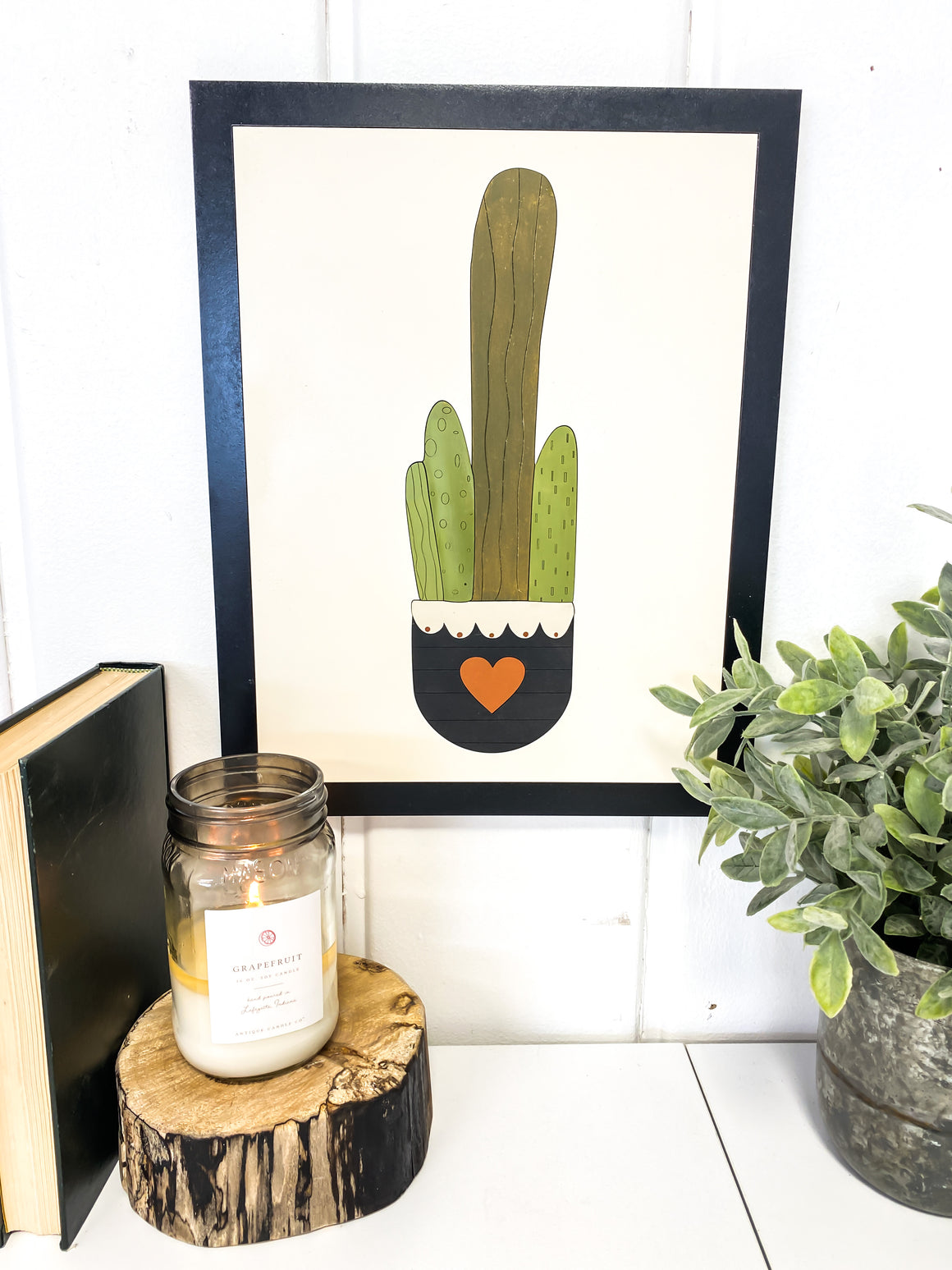 DIY Wall Art Kit | Plant 4