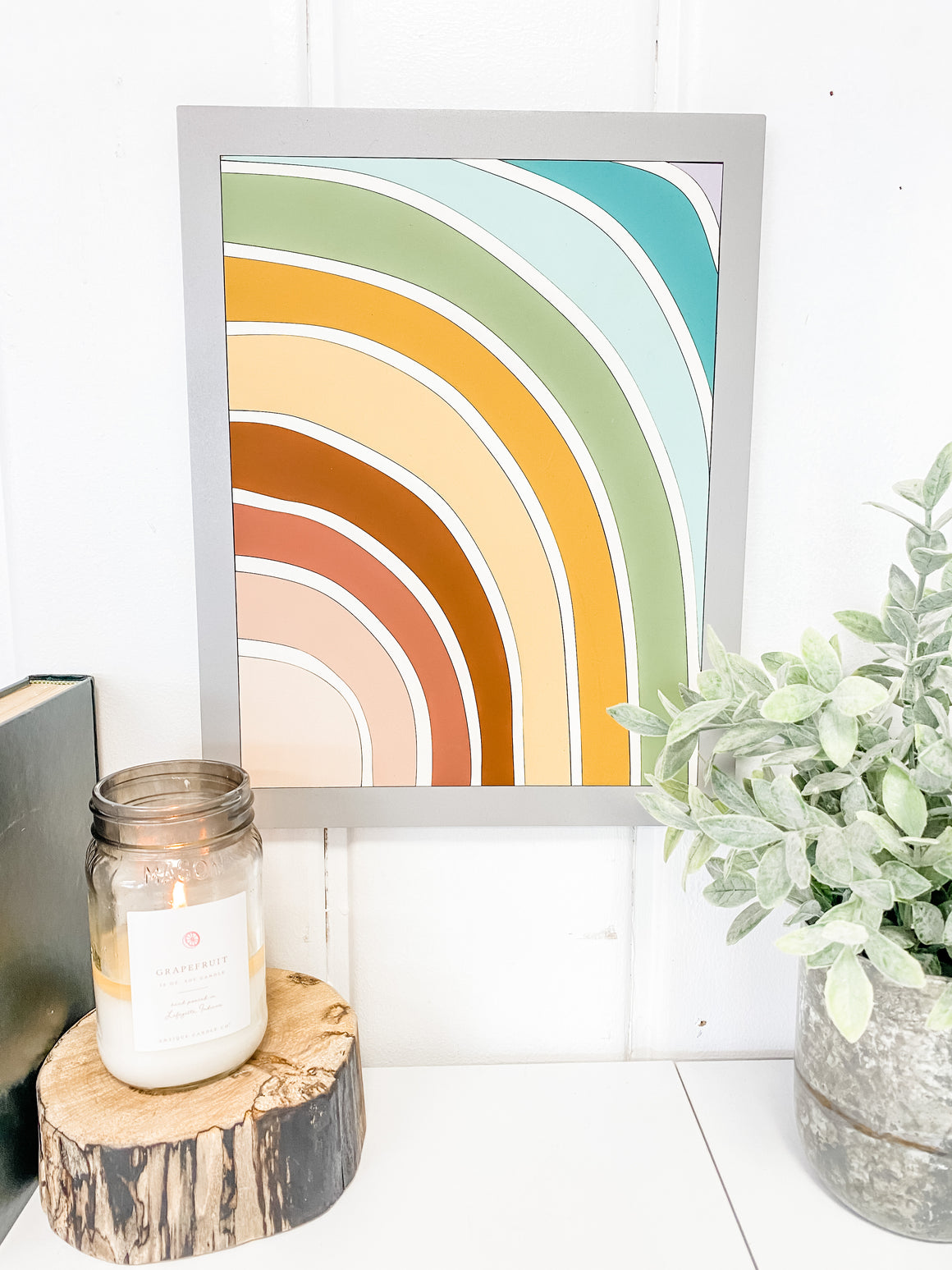 DIY Wall Art Kit | Rainbow