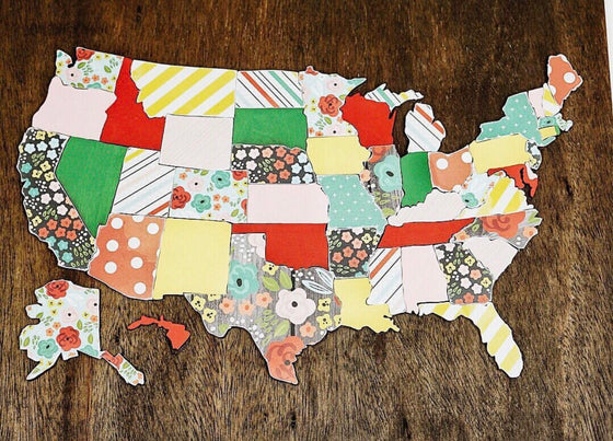 DIY United States Map Kits