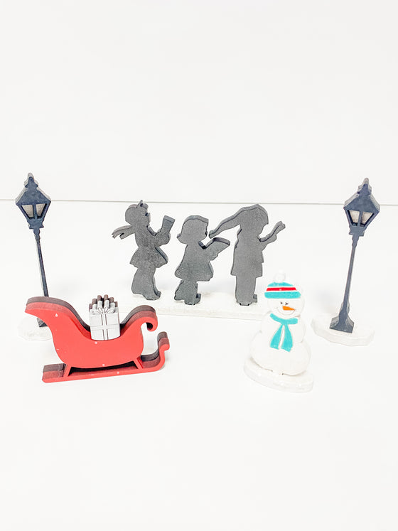 Christmas DIY Kits| Christmas Village |Add on pieces-Unfinished