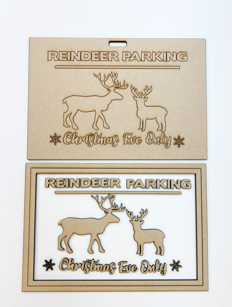 Christmas DIY Kit | Reindeer Parking