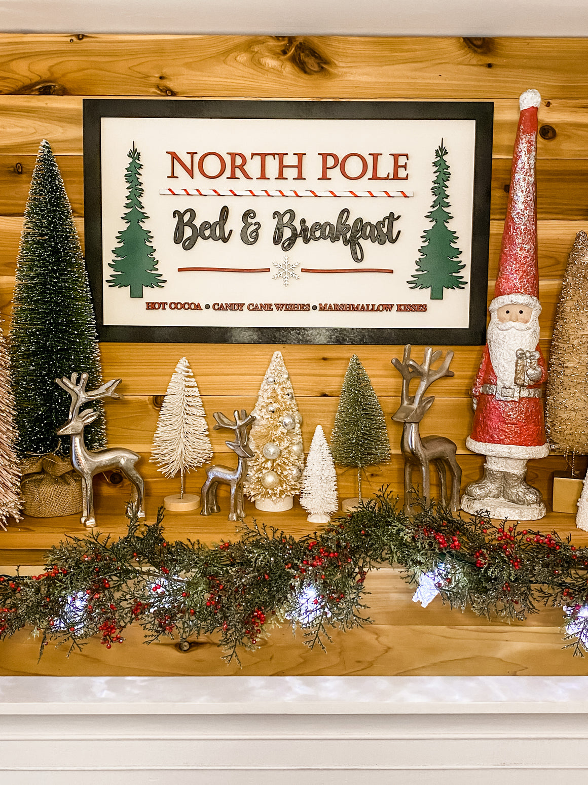 Christmas DIY Kit | North Pole Sign