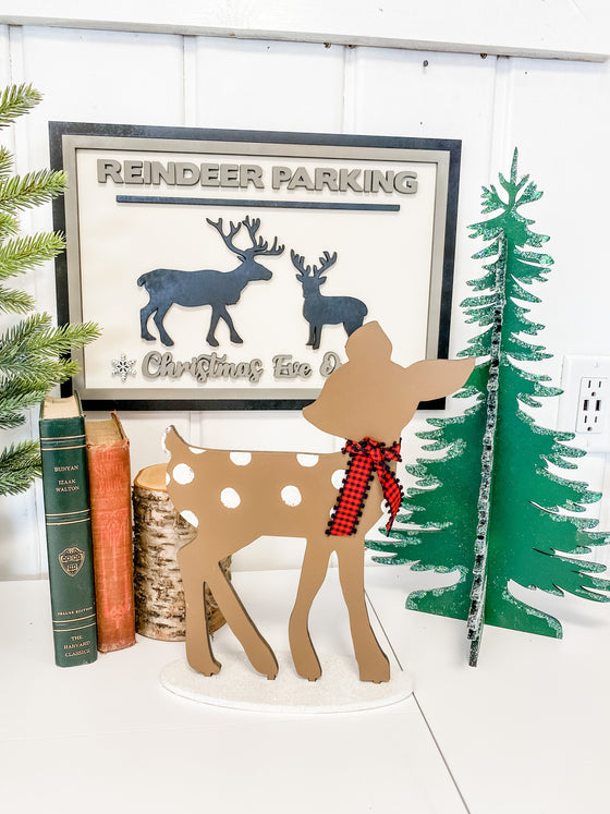 "Christmas DIY Kit | 12"" Tall Deer"