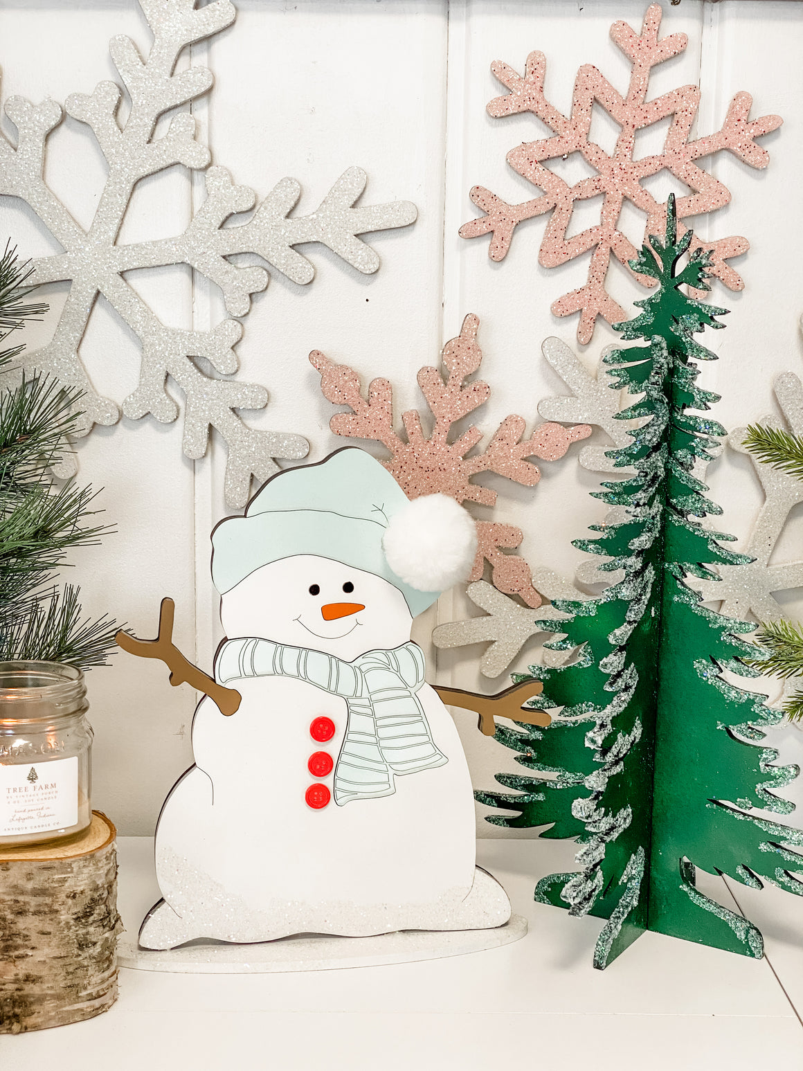 "Christmas DIY Kit | 12"" Tall Snowman"