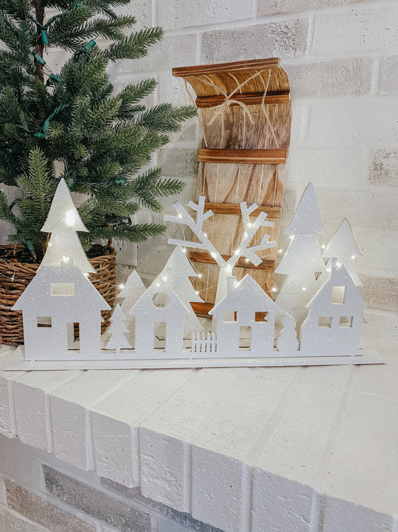 Christmas DIY Kits| Christmas Village Silhouette