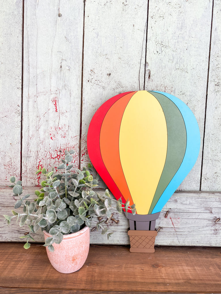 DIY Kits | Hot Air Balloon Cut Out
