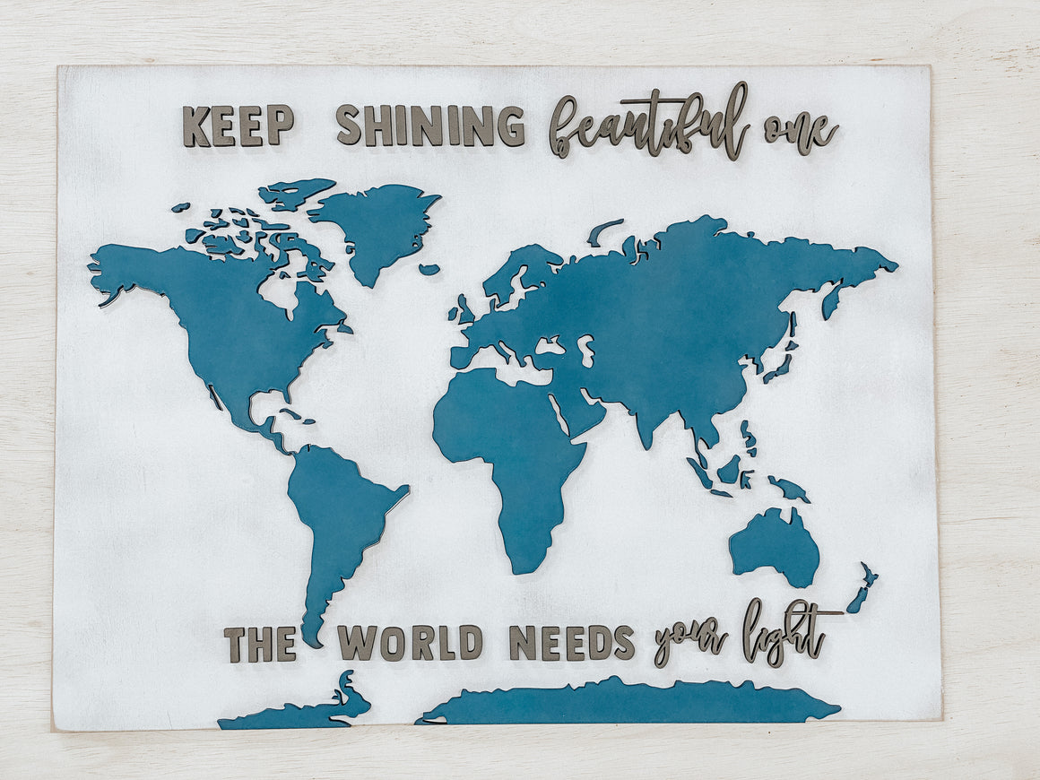 DIY World Map Kits