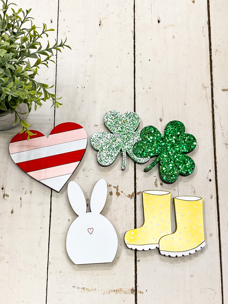 Spring Set of 4 | Interchangeable Pieces