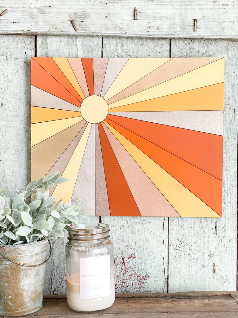 DIY Wall Art Kit | Sunburst