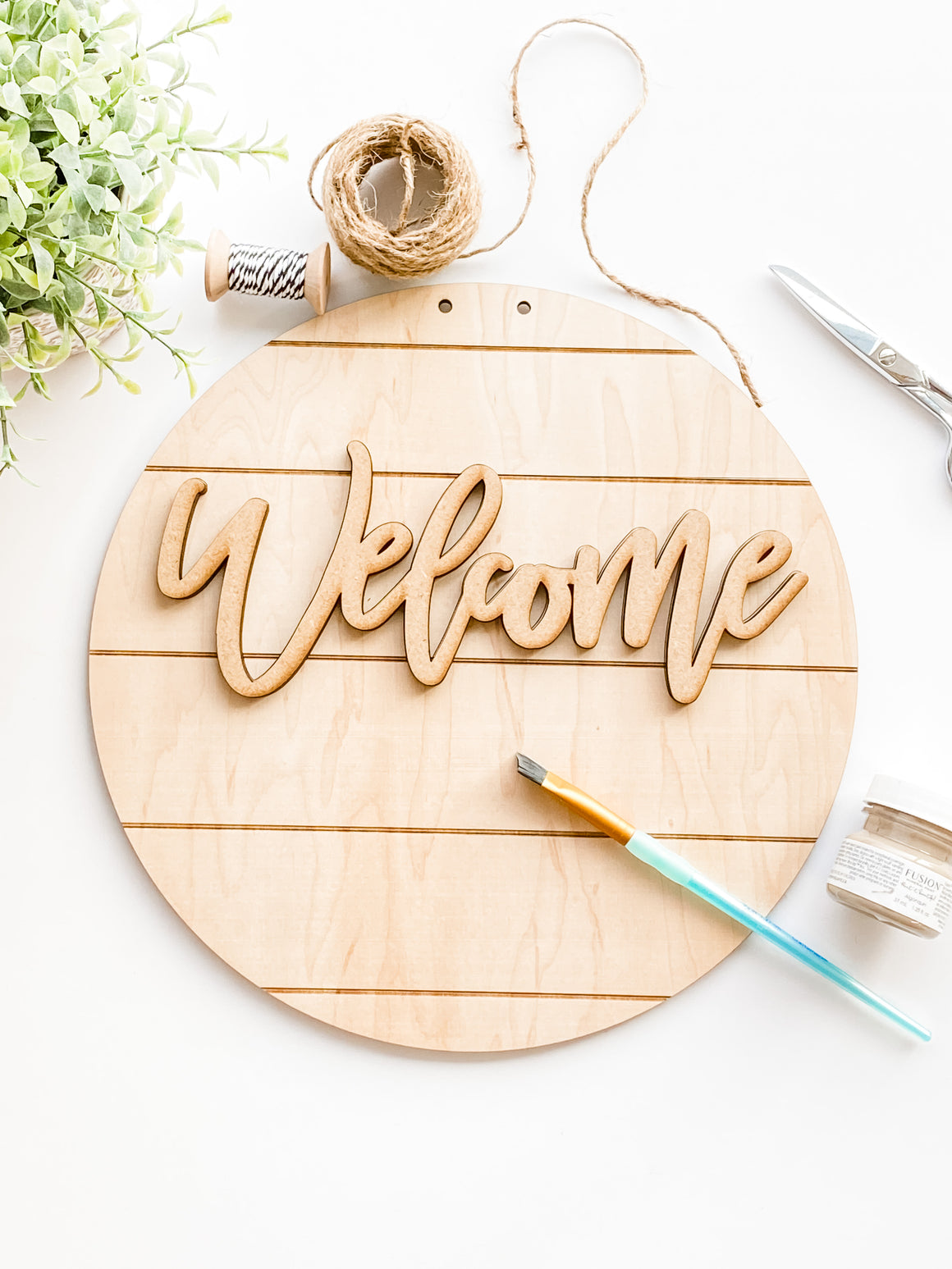 Welcome Sign Kit | Sign Only