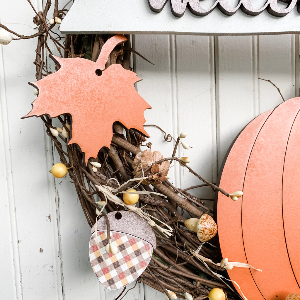 DIY Wreath Kit | Welcome Fall Wreath