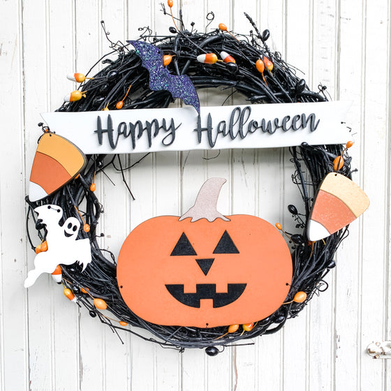 DIY Wreath Kit | Halloween Wreath