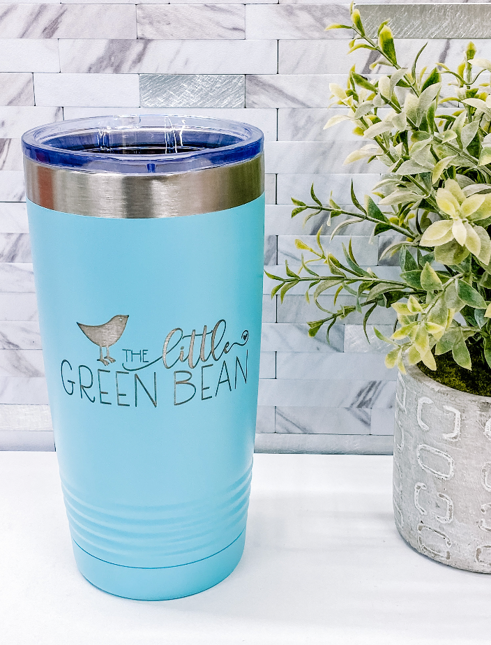 Drinkware | The little Green Bean Logo |