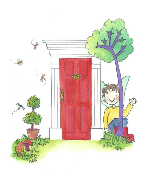 The Magic Elf Door - Book - The Magic Door Store - 1