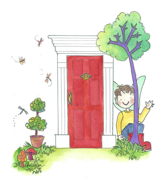 The Magic Elf Door - Book - The Magic Door Store - 2