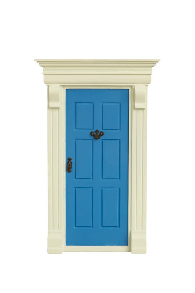 My Blue Elf Door - The Magic Door Store