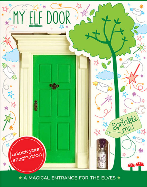 My Green Elf Door - The Magic Door Store - 1