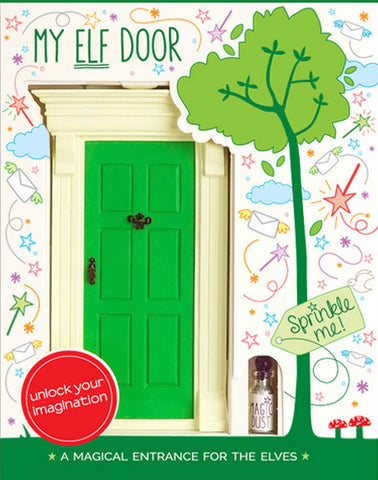 My Green Elf Door - last few remaining! - The Magic Door Store