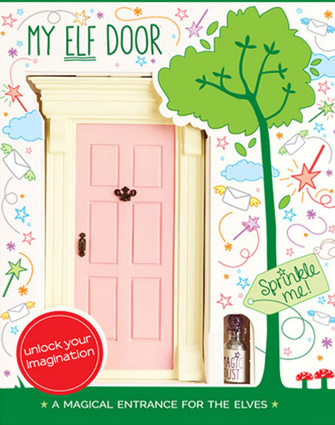 My Pink Elf Door - The Magic Door Store