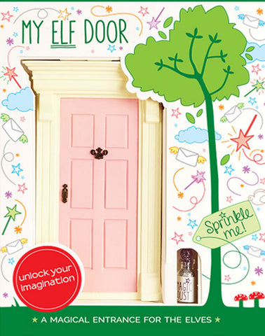 My Pink Elf Door - The Magic Door Store - 1