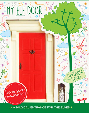 My Red Elf Door - The Magic Door Store - 1