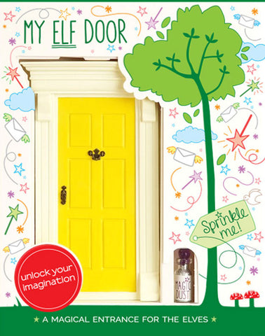 My Yellow Elf Door - The Magic Door Store