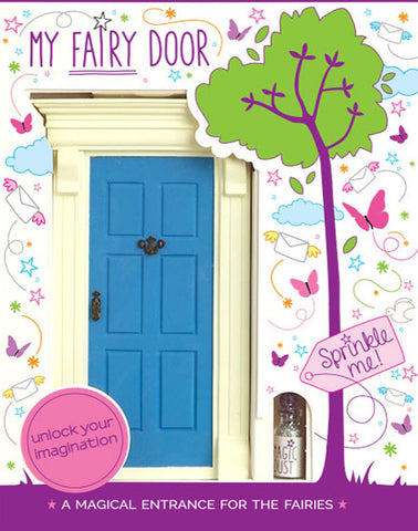 My Blue Fairy Door - The Magic Door Store