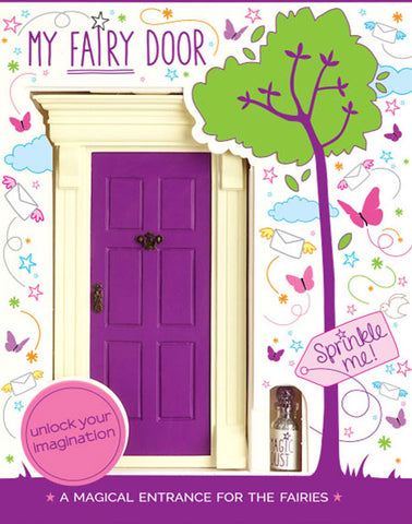 My Purple Fairy Door - The Magic Door Store - 1