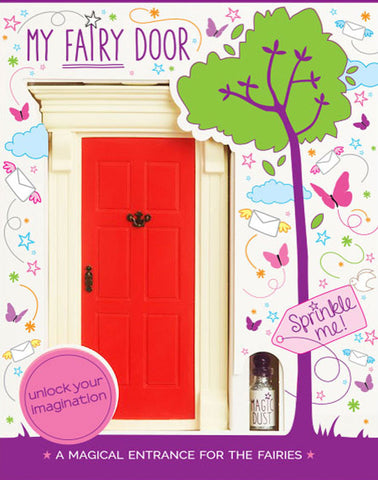 My Red Fairy Door - The Magic Door Store - 1
