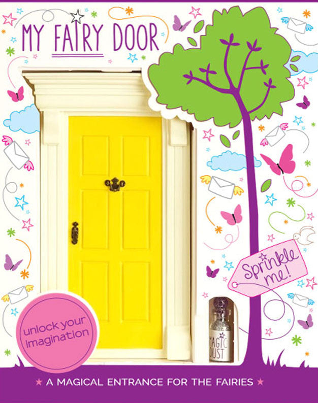 My Yellow Fairy Door - The Magic Door Store - 1