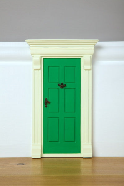 My Green Elf Door - The Magic Door Store - 2