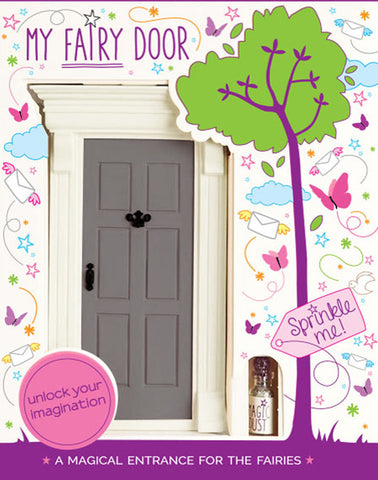 My Grey Fairy Door