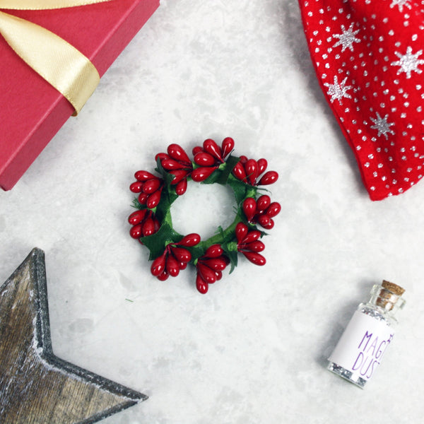 Mini Christmas Wreath - The Magic Door Store