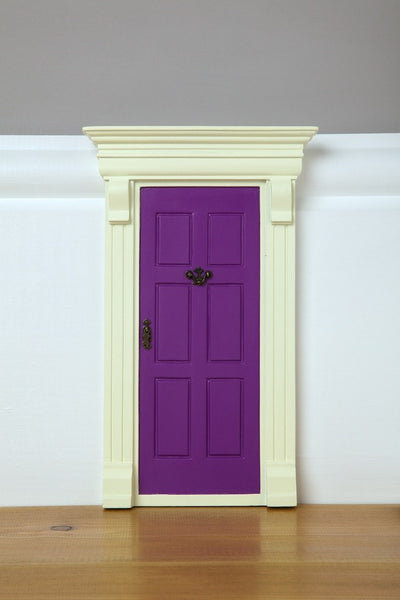 My Purple Elf Door - The Magic Door Store