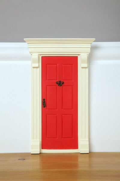 My Red Elf Door - The Magic Door Store