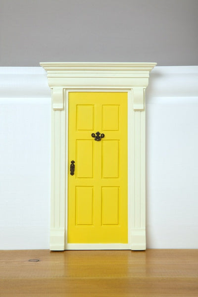 My Yellow Fairy Door - The Magic Door Store