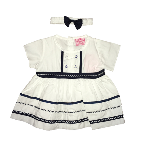 My Mini Sailor Dress Set