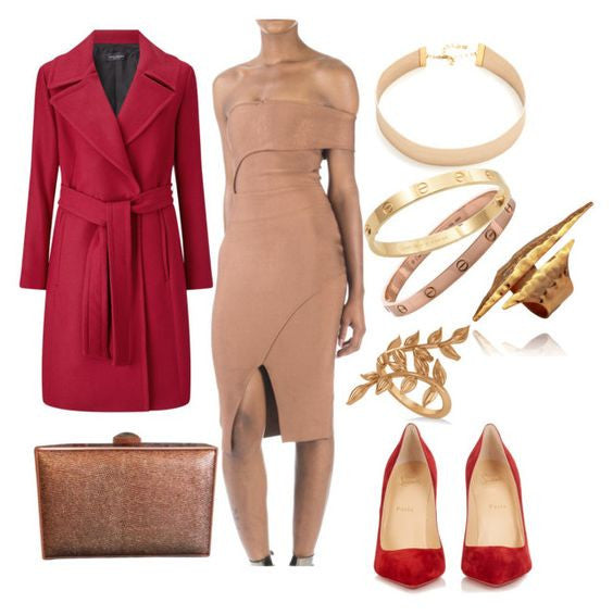 Styling Your Nude Dress This Valentines Day