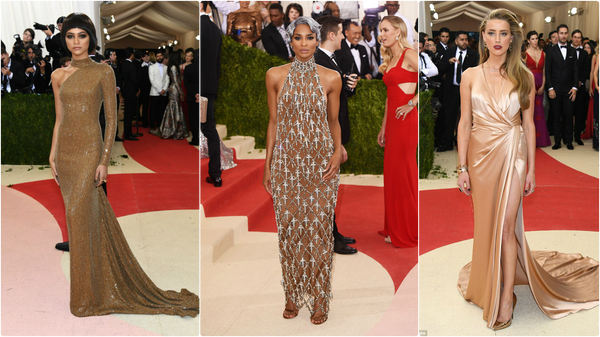 Spotted in Nude: The Best Looks from the Met Gala 2016